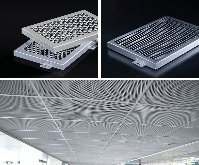 Carlos baffle perforated metal ceiling tiles suppliers metal for roof-1