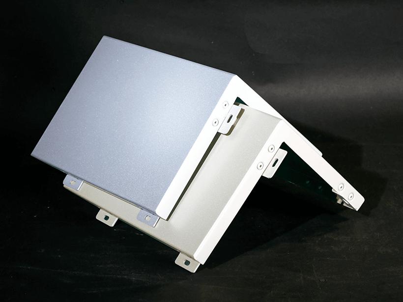 Carlos column aluminum panels customized for internal wall-1