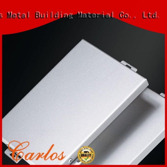 Carlos columns aluminium cladding panels manufacturers