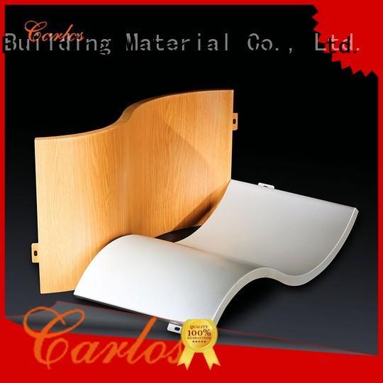 flatseam aluminum wall panels exterior modeling Carlos company
