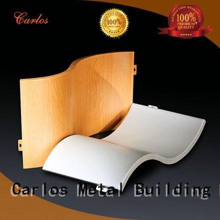 aluminum wall panels exterior art hollow OEM aluminum panels Carlos