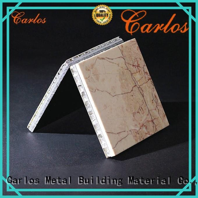 Carlos panels aluminium honeycomb composite panel supplier for construction