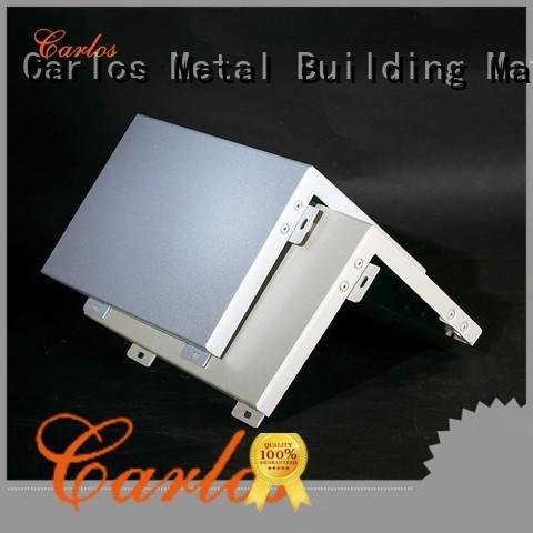 Carlos circular aluminum wall panels exterior square for decoration