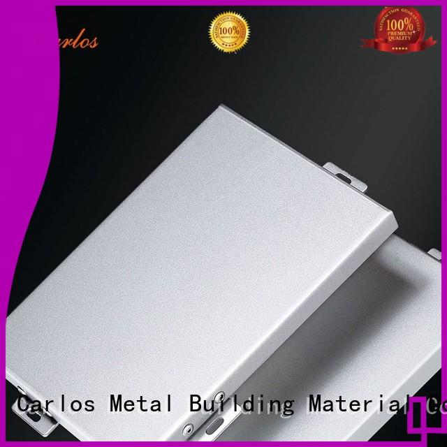 corrugated aluminum panels manufacturer for decoration Carlos