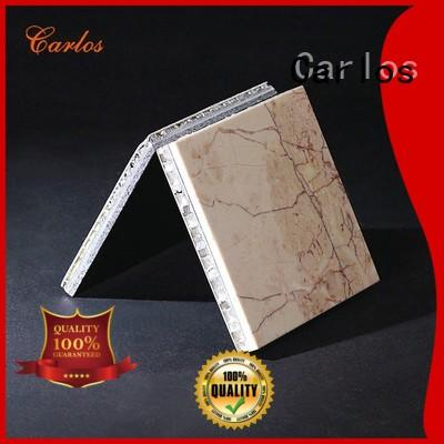 Carlos panels aluminum honeycomb sheet Supply