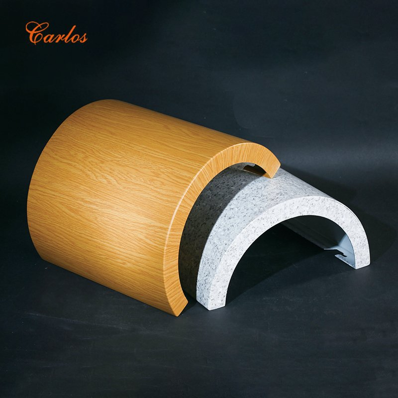 Carlos Round seamless package column Aluminum Panel image3
