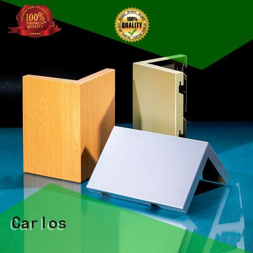 single aluminum art Carlos aluminum wall panels exterior