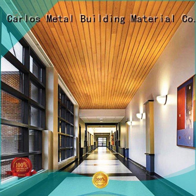 Carlos metal ceiling panels ceilings square metal buckle