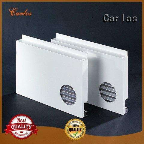 Quality aluminum wall panels exterior Carlos Brand sewing aluminum panels