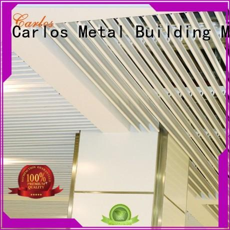 ceilings buckle metal ceiling panels Carlos Brand