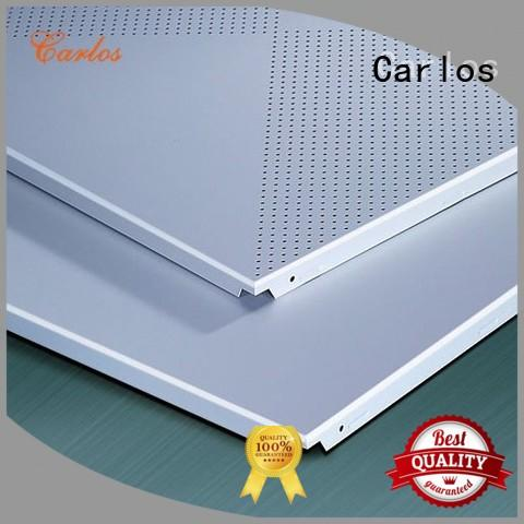 Carlos blade metal suspended ceiling design for roof