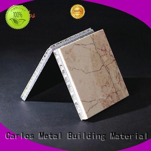 Carlos honeycomb aluminum honeycomb sheet supplier for buildings