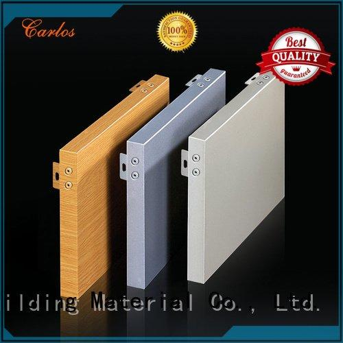 aluminum wall panels exterior corrugated package OEM aluminum panels Carlos
