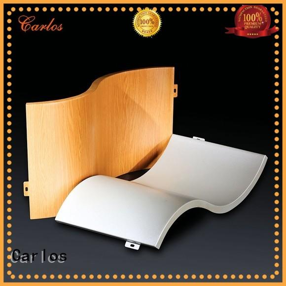 Carlos round aluminum wall panels manufacturer for decoration