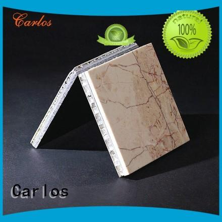 Carlos honeycomb aluminium honeycomb sheet supplier for buildings