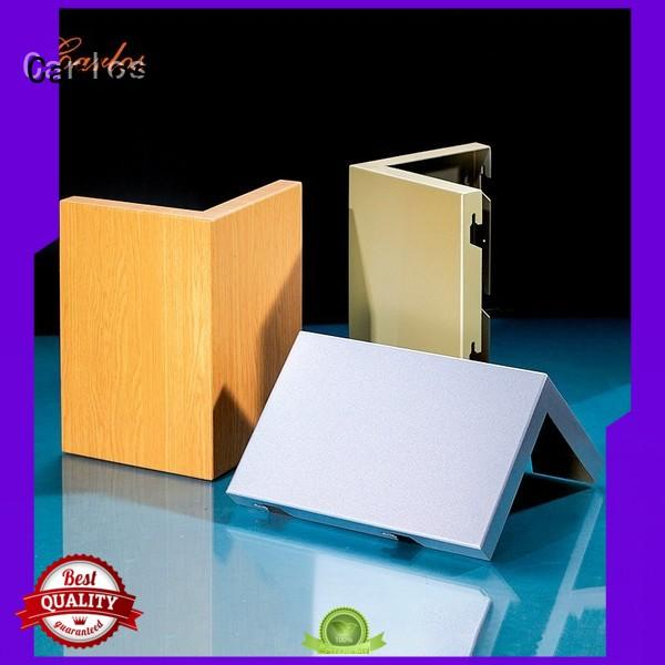 square exterior aluminum panels manufacturer for roof Carlos