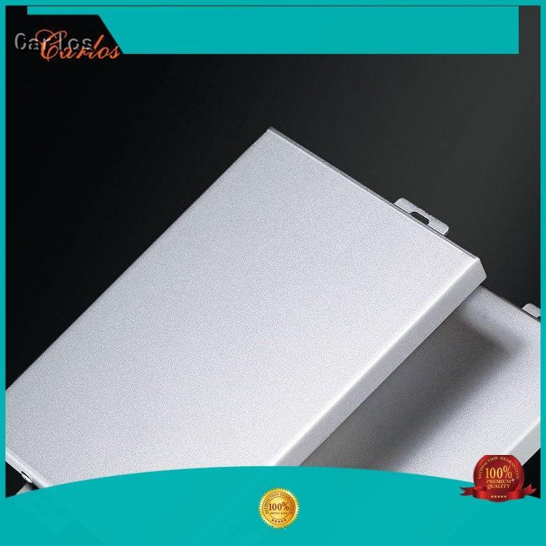 Carlos metal aluminium composite panel design for roof