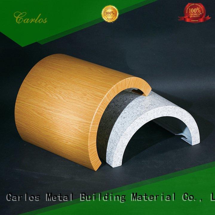 columns aluminum panels modeling hollow Carlos