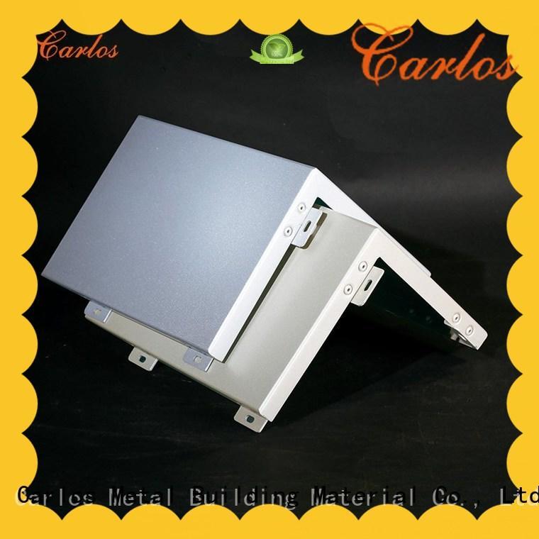 Carlos metal aluminium composite panel price supplier for exterior wall