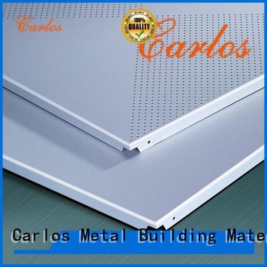 Custom aluminium ceiling panel baffle factory