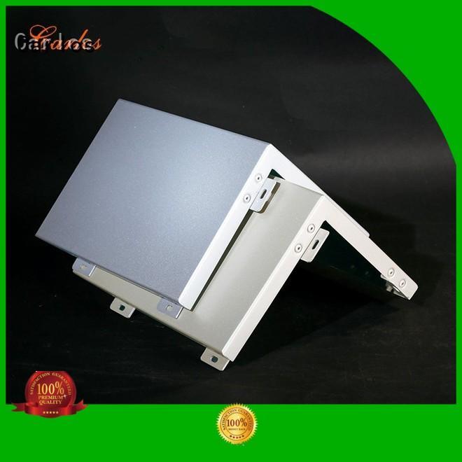 Quality Carlos Brand aluminum wall panels exterior seamless flatseam