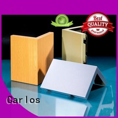 aluminum wall panels exterior hyperbolic corrugated round Carlos Brand aluminum panels