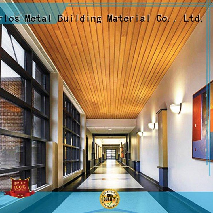 Hot perforated metal ceiling tiles suppliers blade metal ceiling panels grille Carlos