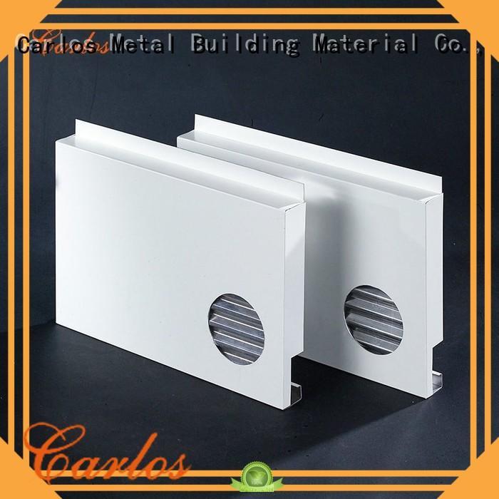 Carlos seamless aluminium composite panel manufacturers circular for decoration