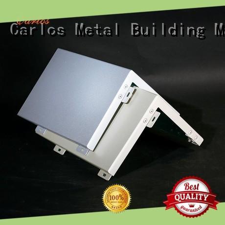 Carlos column aluminum panels customized for internal wall