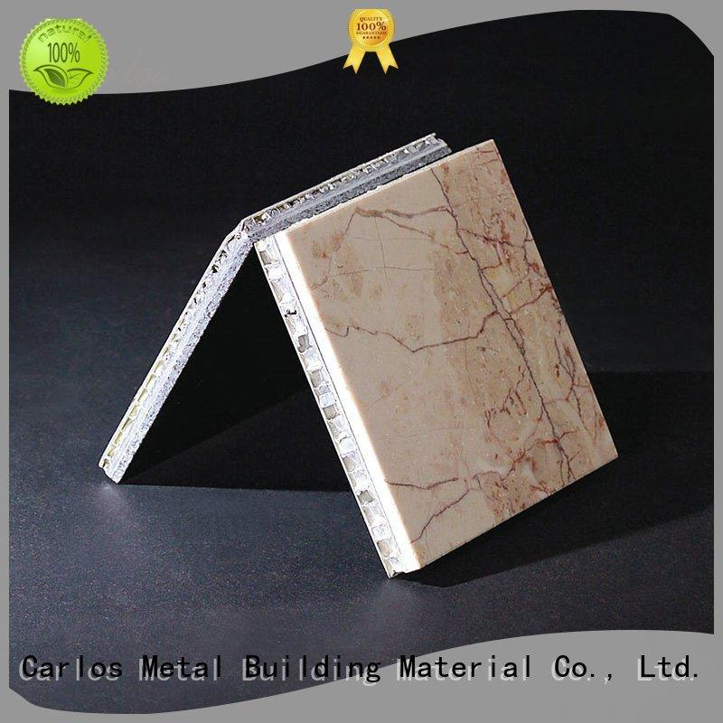 composite structure Carlos Brand aluminum honeycomb panels for sale factory