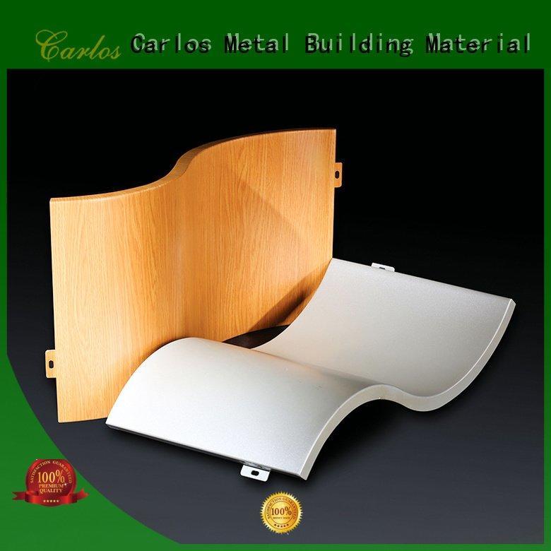 aluminum wall panels exterior panel package Carlos Brand