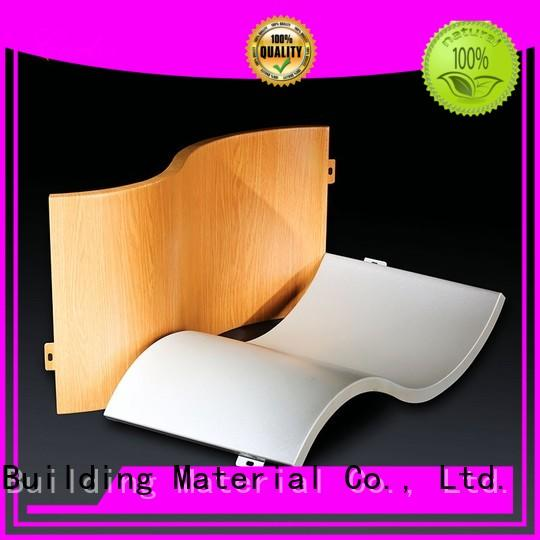 Carlos hollow aluminum wall panels Suppliers