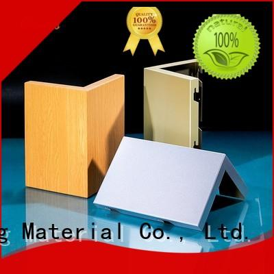 flat bag aluminum wall panels exterior aluminum Carlos company