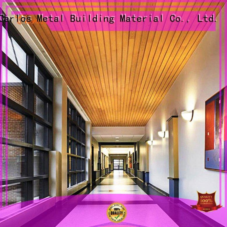 Carlos Brand blade perforated metal ceiling tiles suppliers square netting