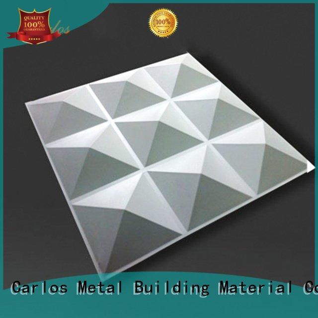 aluminum wall panels exterior seamless square hyperbolic Carlos