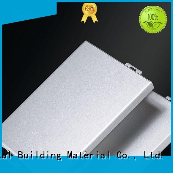 seamless exterior aluminum panels columns manufacturer for exterior wall