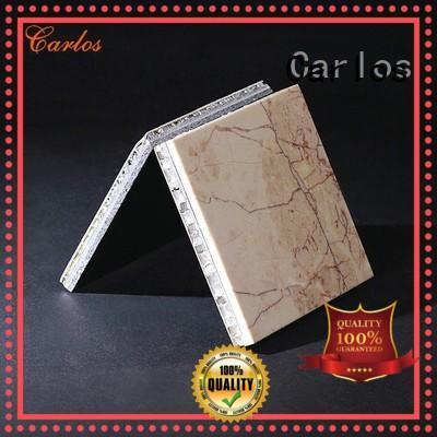 honeycomb aluminum honeycomb sheet customized for decoration Carlos