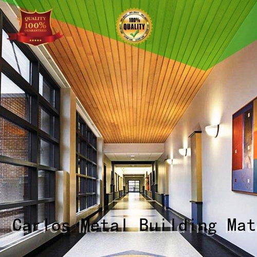 Carlos ceiling metal ceiling panels grille series