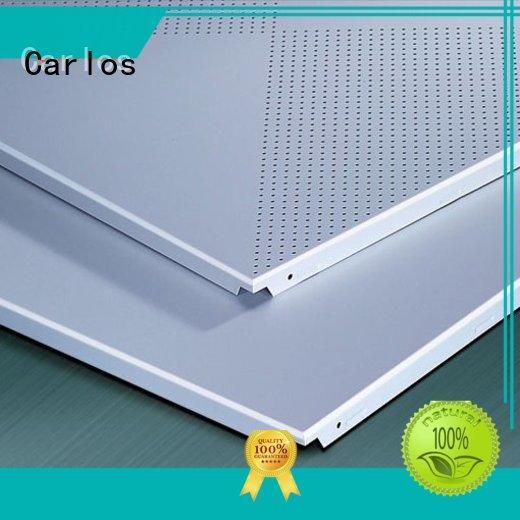 baffle drop ceiling panels manufacturer for decoration