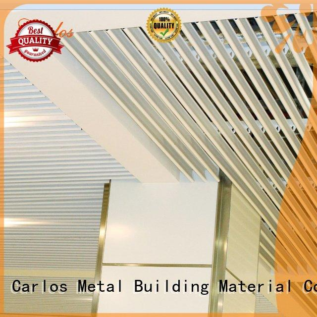 Wholesale square through metal ceiling panels Carlos Brand