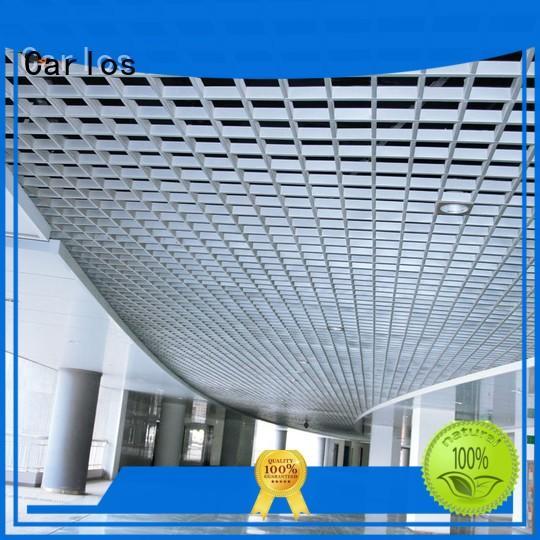 Carlos Brand ceilings blade metal ceiling panels manufacture