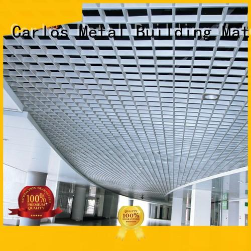 buckle Custom metal netting metal ceiling panels Carlos ceilings