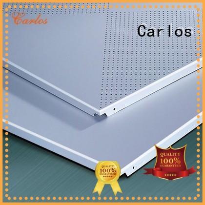 Wholesale metal perforated metal ceiling tiles suppliers ceilings Carlos Brand