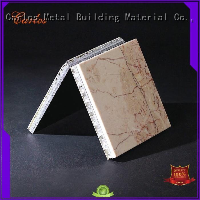 coating panels Carlos Brand aluminum honeycomb panels for sale