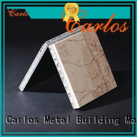 composite coating aluminum honeycomb panels for sale Carlos manufacture