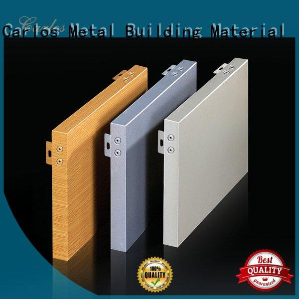 square aluminum panels hollow single Carlos