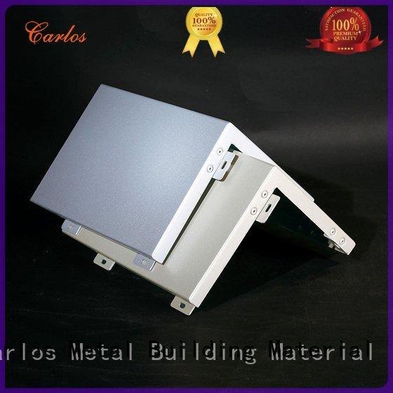 Carlos Brand board aluminum wall panels exterior flatseam bag
