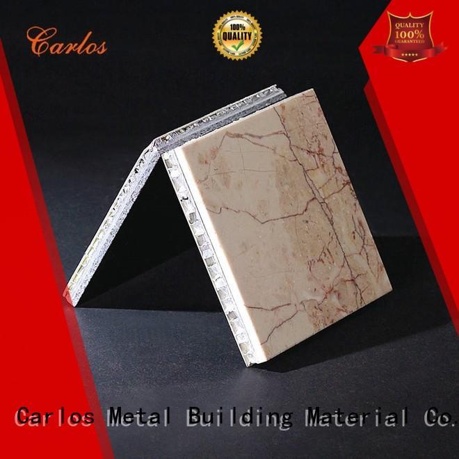 Carlos durable aluminium honeycomb sheet supplier for buildings