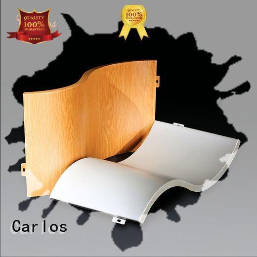 circular columns aluminum Carlos aluminum panels