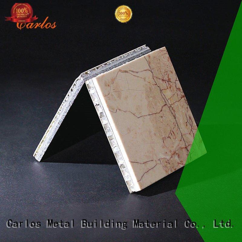 Quality Carlos Brand wavy aluminum honeycomb sheet